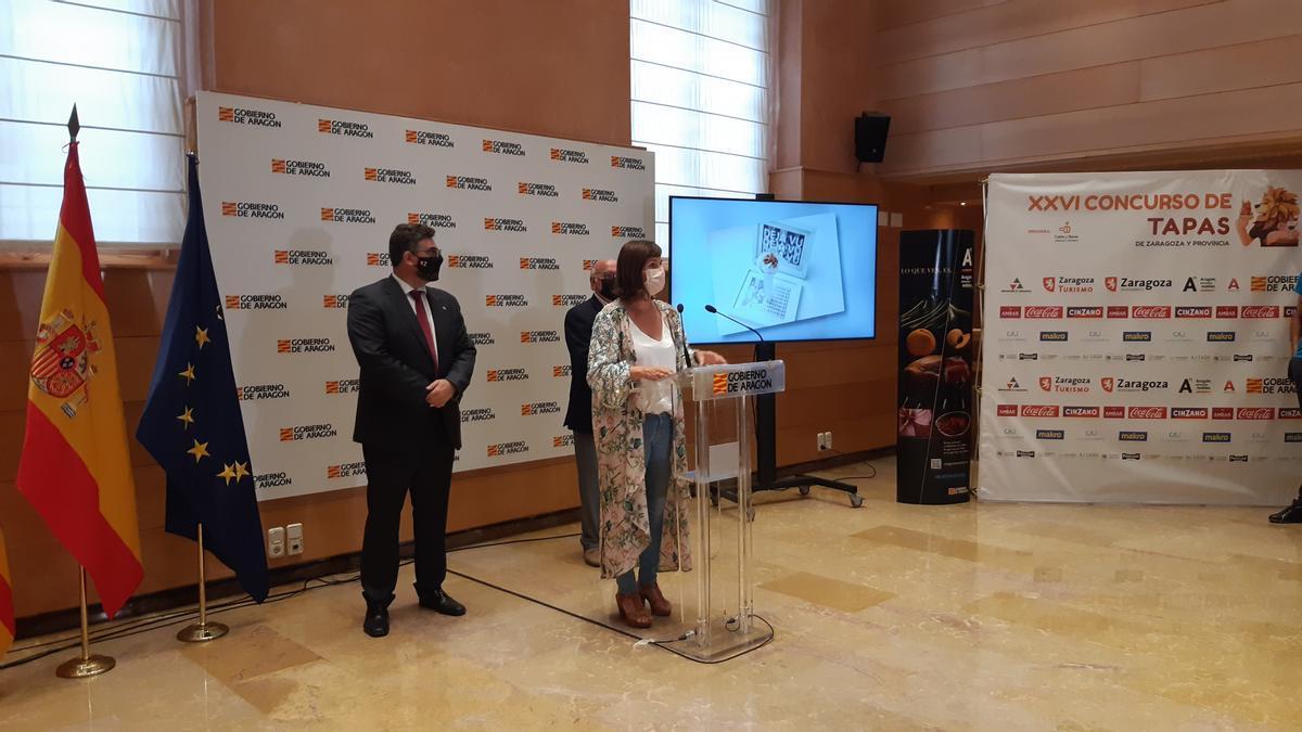El Gobierno de Aragón colabora en la XXVI edición del Concurso de Tapas de Zaragoza y provincia.