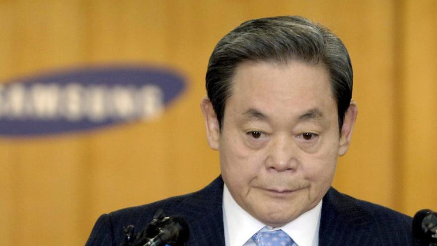 Muere el presidente de Samsung, Lee Kun Hee