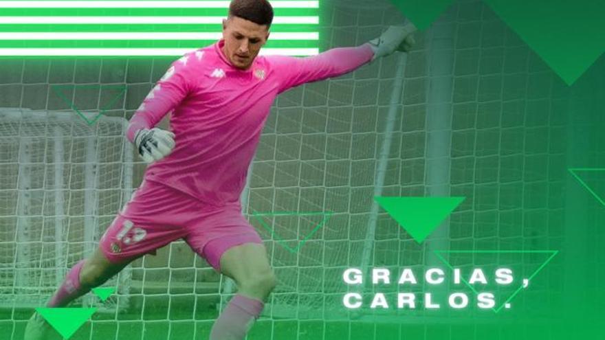 El Córdoba CF ata a Carlos Marín para cerrar la portería