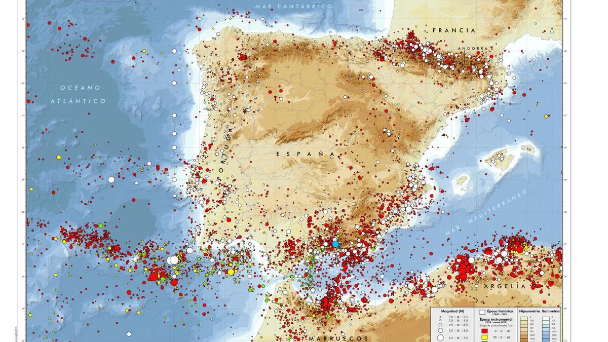 Qué zonas en España tienen más riesgo de sufrir un terremoto