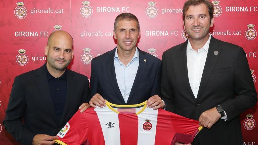 El nou Girona del City i Pere Guardiola aspira  a «créixer» a Primera