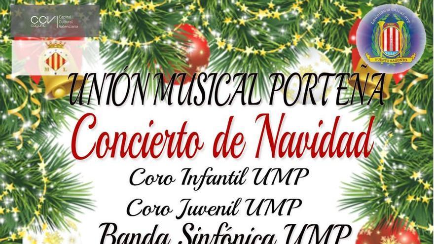 La Unión Musical Porteña celebra su concierto de Navidad