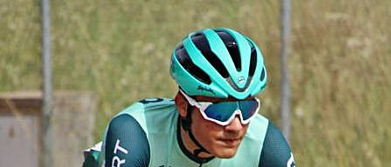 El ciclista Pau Martí. | LEVANTE-EMV