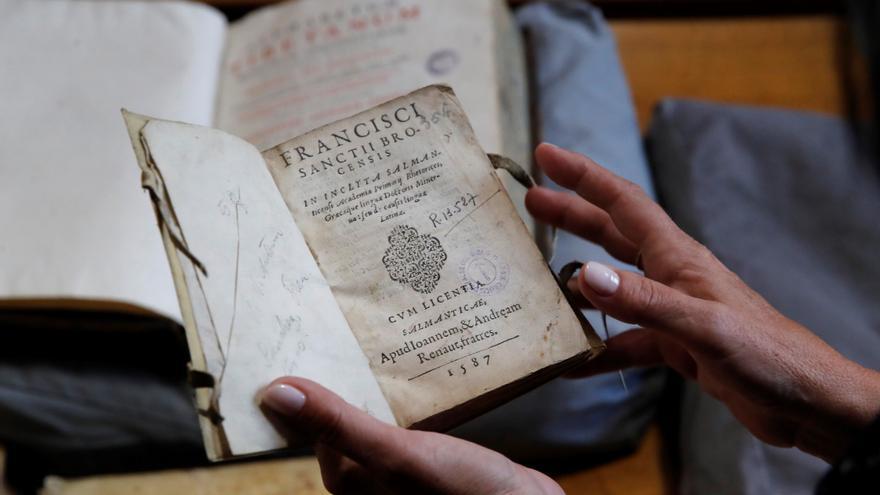 La Biblioteca Nacional recupera más de 400 libros depositados en el Valle de los Caídos