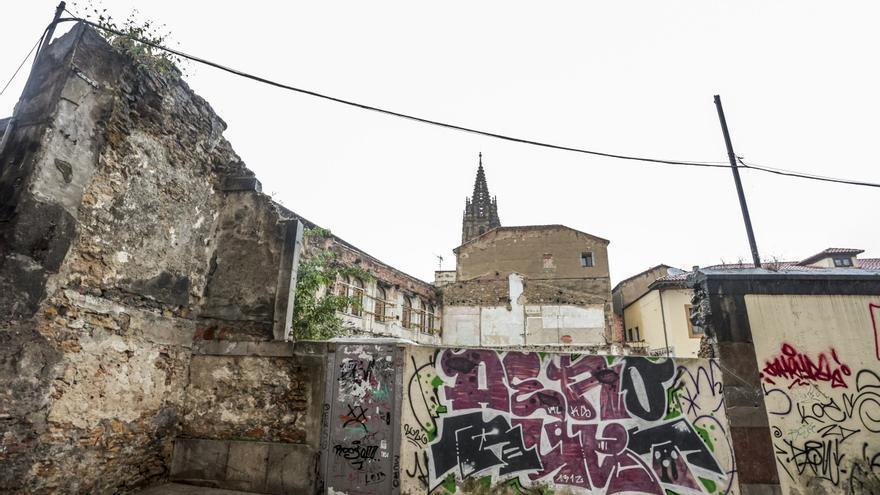La degradación urbanística del casco viejo de Oviedo: cuatro calles que lastran el Antiguo