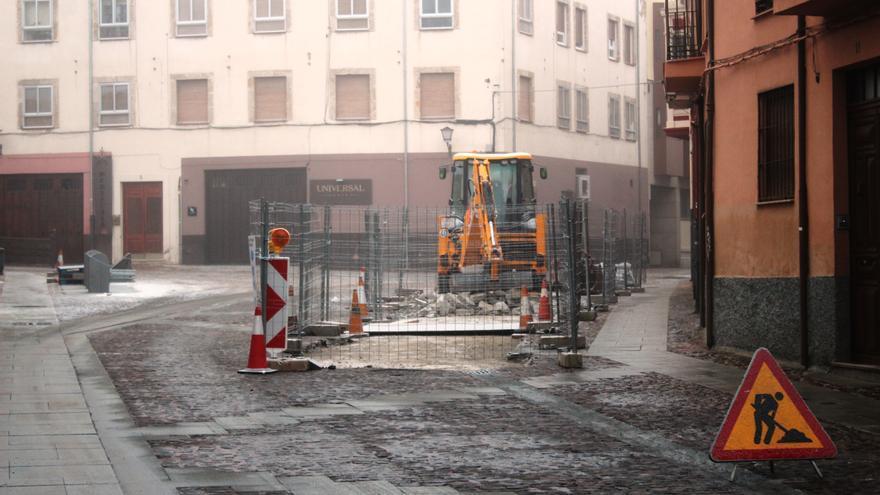 El Ayuntamiento de Zamora invierte 290.000 euros en renovación de saneamiento