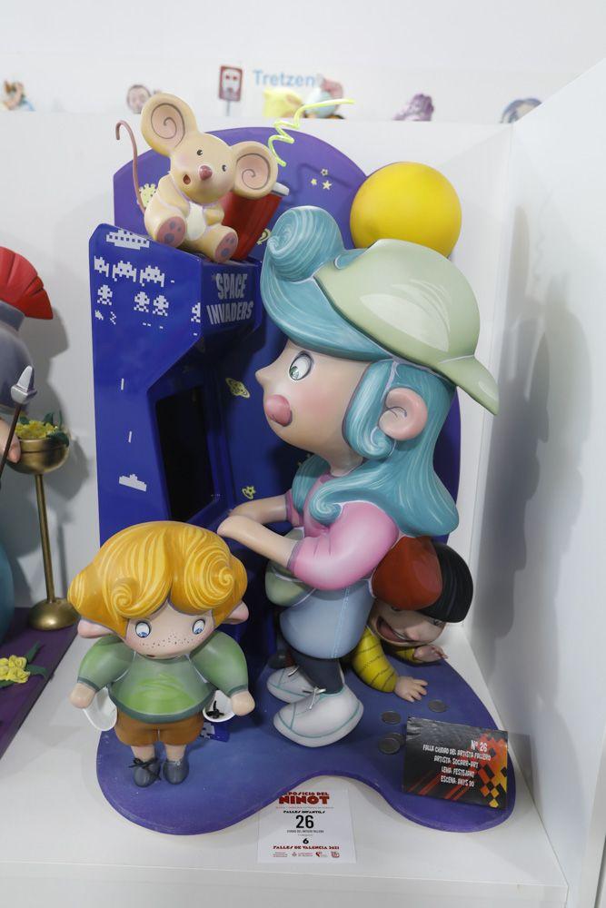 Fallas 2021: Ninots de las secciones Novena a Decimotercera (infantiles).