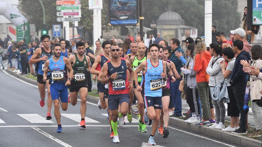 Coruña10 amplía su cupo en 400 atletas y pisará zona portuaria