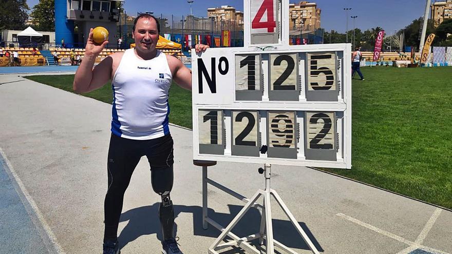David Fernández, lanzado hacia Tokio: el atleta paralímpico bate su propio récord de España