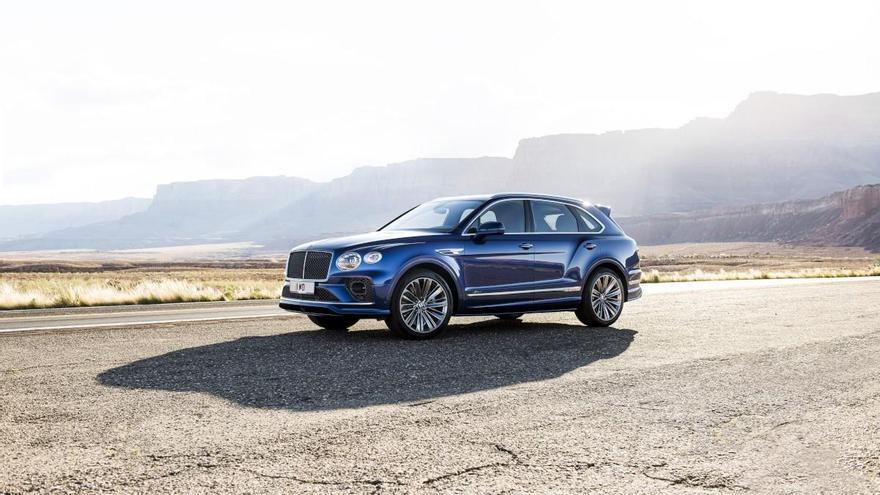 El Bentley Bentayga Speed alcanza los 306 km/h