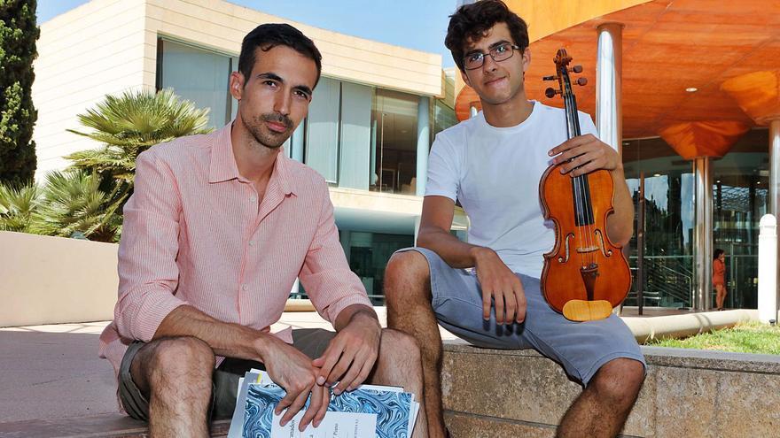 Isaac Pérez y Albert Colomar: «La música es atemporal. Si la interpreto hoy es música actual»