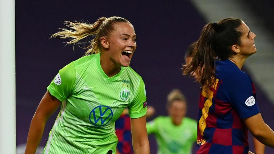 El Barça femenino perdona ante el Wolfsburgo y se queda sin final de la Champions