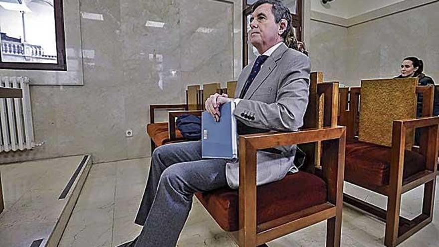 Todos echarán la culpa  a Jaume Matas del amaño del concurso de Son Espases