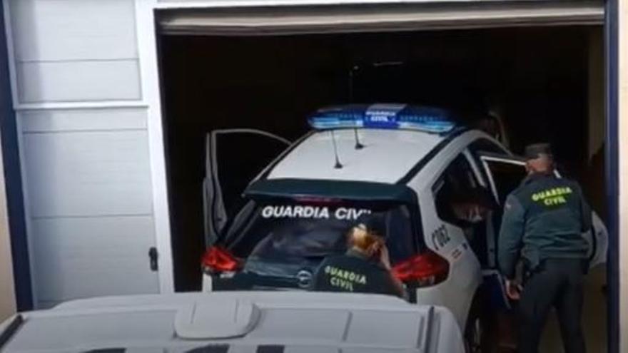 Llegada al Juzgado de los acusados de una violación grupal en Gran Canaria