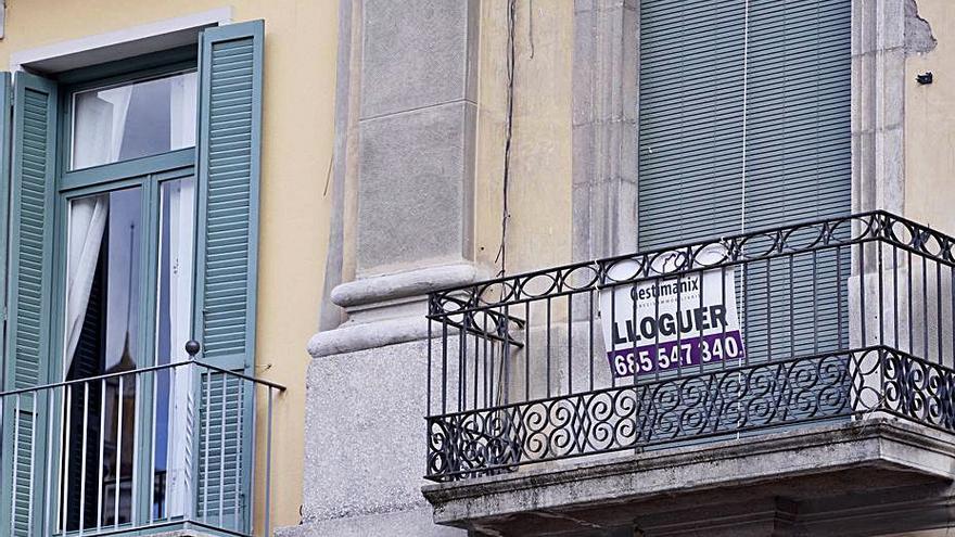 Quatre municipis gironins són considerats àrees de mercat d'habitatge tens