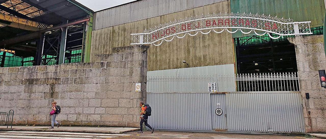 Las instalaciones de Barreras permanecen sin actividad desde mediados de marzo.