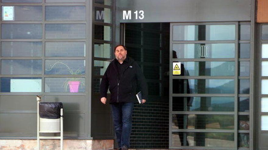 ERC i Junts es tornen a reunir a la presó de Lledoners per buscar acords de govern