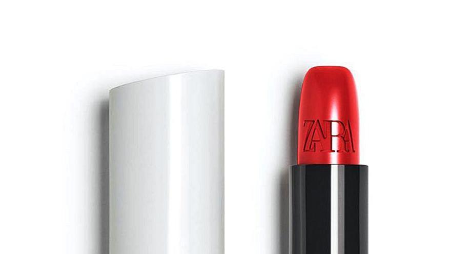 Inditex se lanza al 'efecto lipstick'