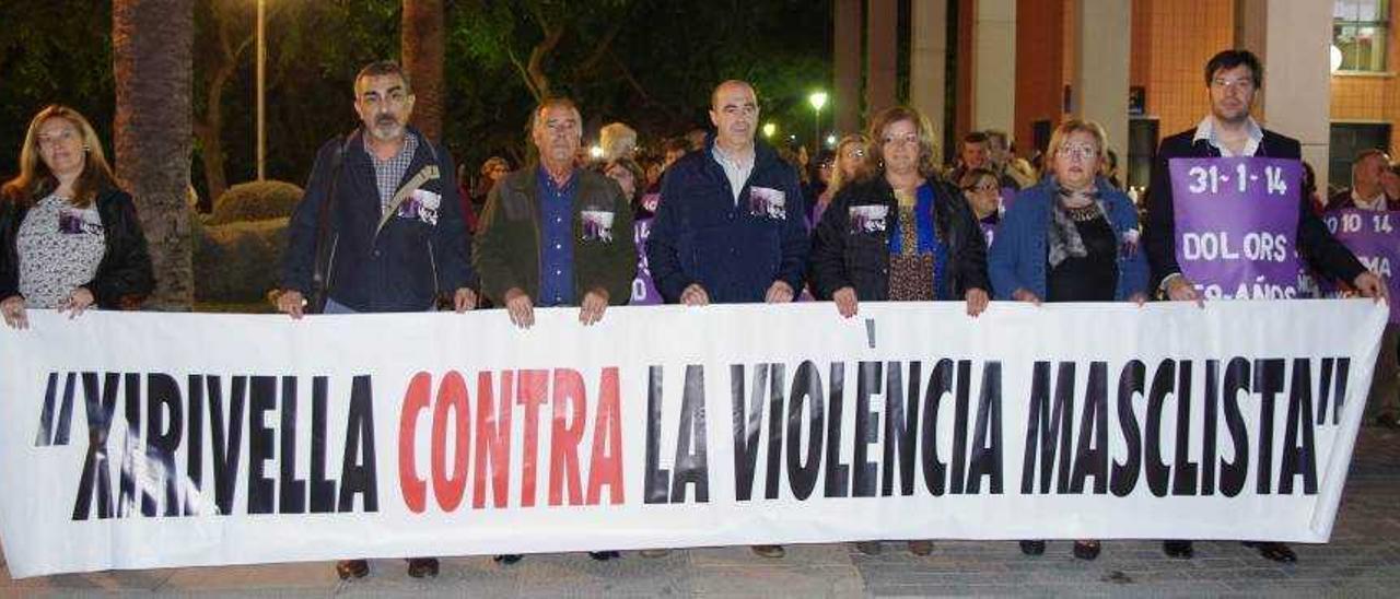 La comarca condena la violencia machista