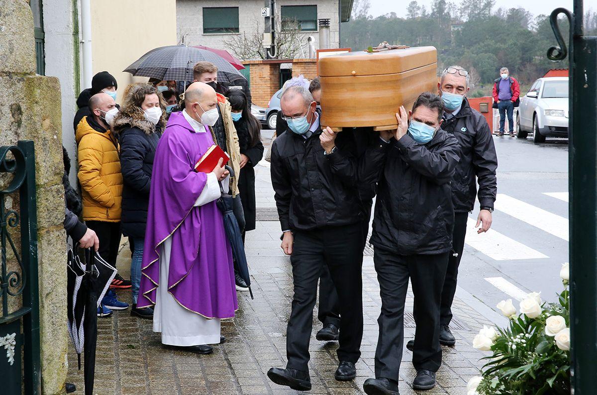Las imágenes del entierro de Alejandro Gómez