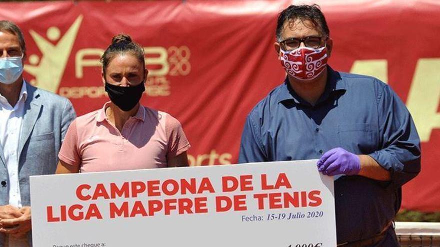 Sara Sorribes triunfa en Platja d'Aro en su vuelta a la competición