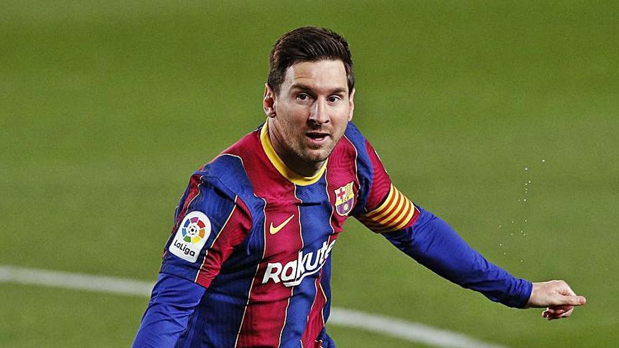 Messi protagoniza el trabajado triunfo del Barça ante el Getafe