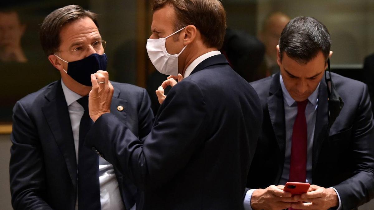Los líderes de la Unión Europea.