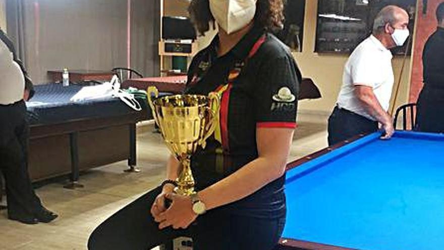 Estela Cardoso gana el primer gran torneo de la nueva normalidad