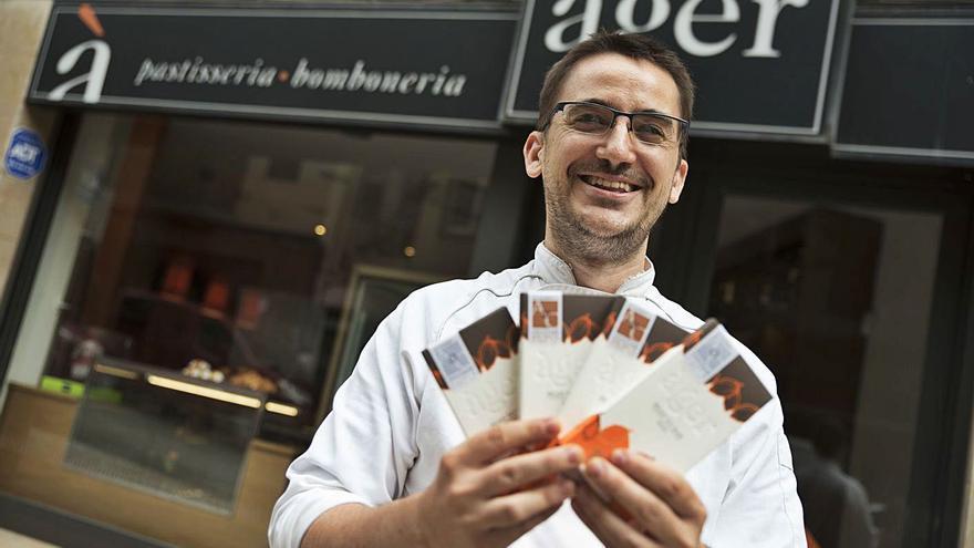 Pastisseria Àger: xocolata de Moià amb premi mundial