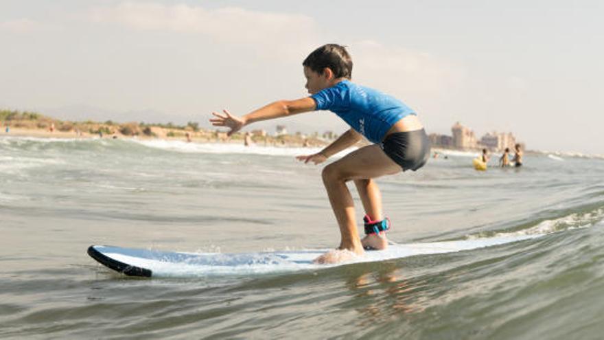 Dónde practicar deportes acuáticos en Valencia