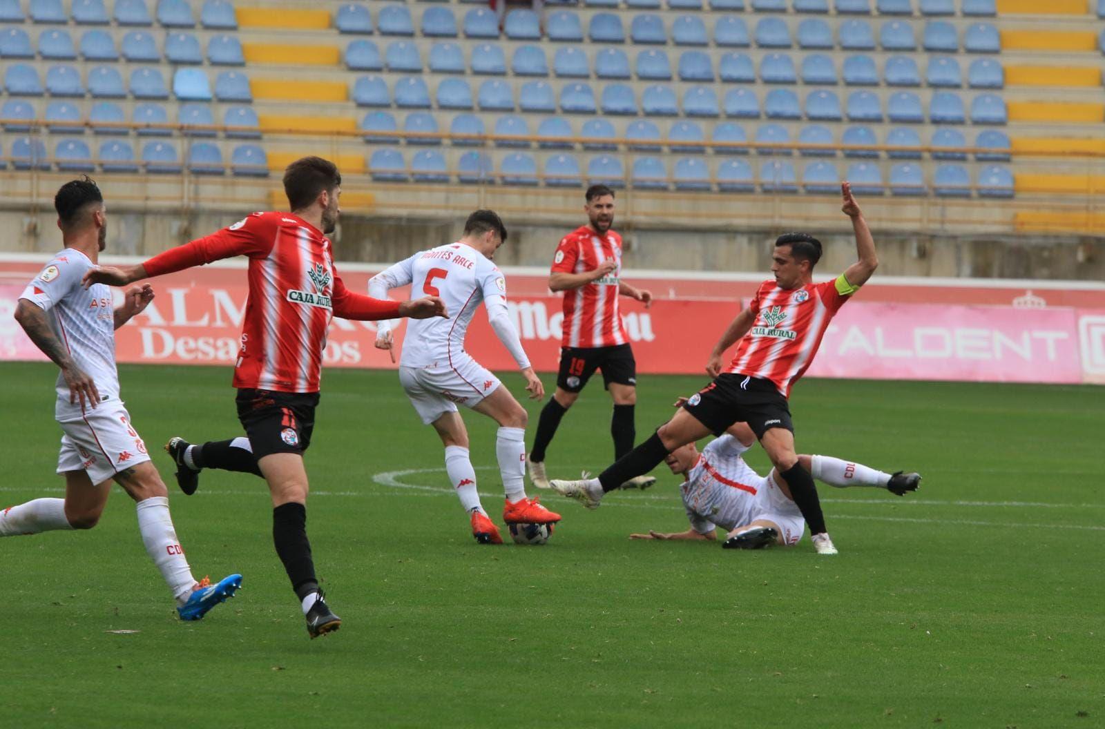 GALERÍA   Las mejores imágenes del partido Cultural Leonesa-Zamora CF (2-2)