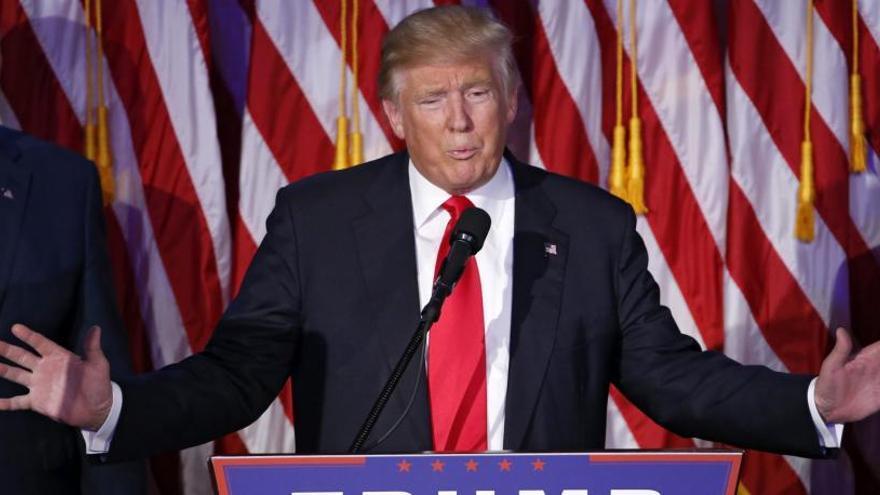 Donald Trump confirma la sorpresa i és escollit  nou president dels EUA