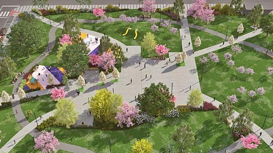 Adjudicadas las obras del gran parque de la Mayacina en más de 800.000 euros