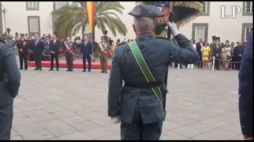 La Guardia Civil celebra el día de su patrona en la plaza Santa Ana