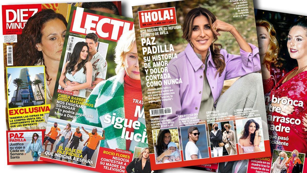 Prensa Rosa: Portadas 07/04/2021