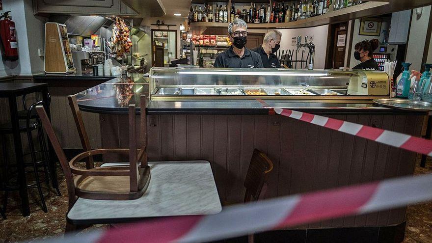 El TSJC suspende el cierre del interior de la hostelería en Tenerife