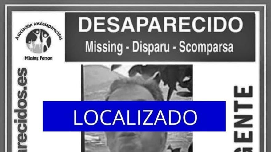 Localizado el hombre desaparecido en Telde