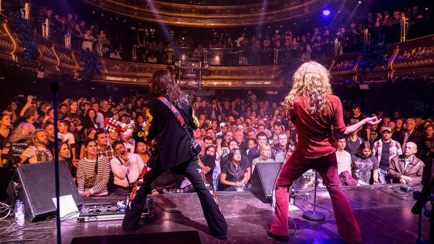 Whole Lotta Band revive la magia de Led Zeppelin