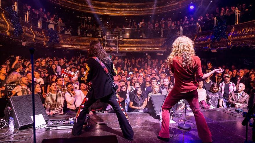 Whole Lotta Band revive la magia de Led Zeppelin