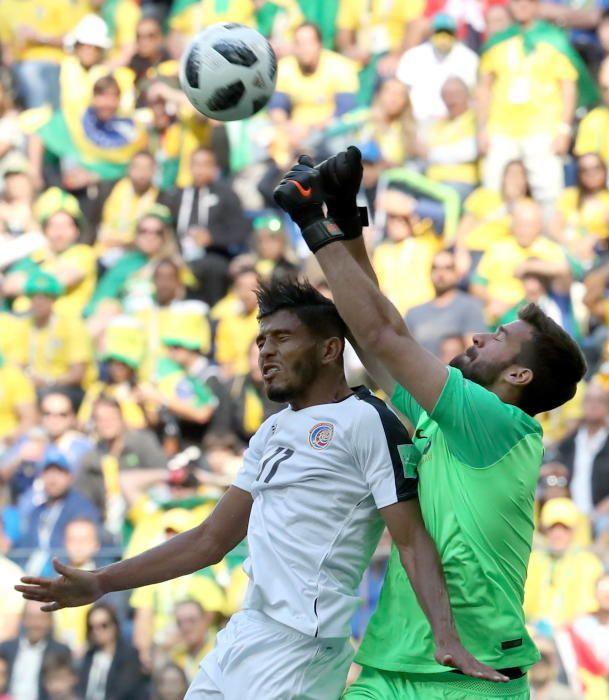 Mundial de Rusia: Brasil-Costa Rica