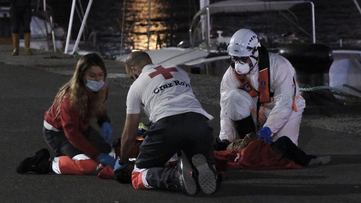 Muere Nabody, la niña de 2 años que llegó el martes a Canarias en patera