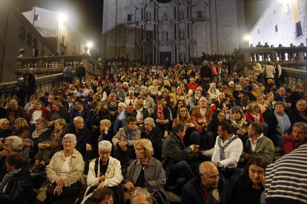 Concert del grup Terra Endins a les escales de la Catedral de Girona