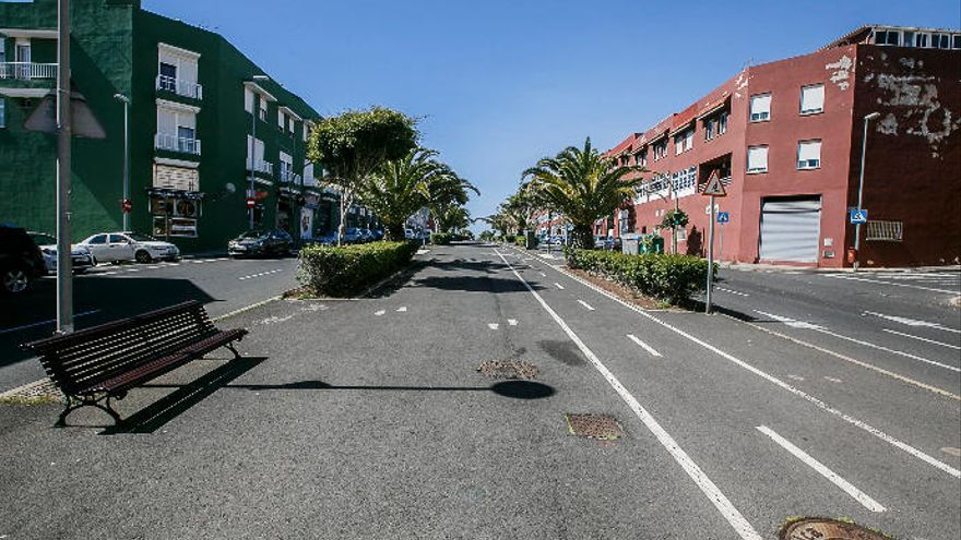 Herido un ciclista tras colisionar con un coche en Tenerife
