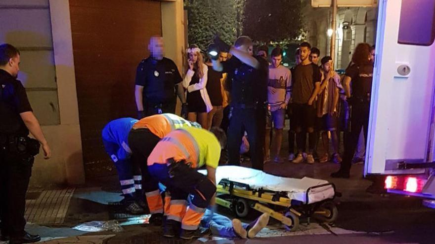 La policía detiene a un joven de El Entrego como presunto partícipe en la brutal paliza a Germán