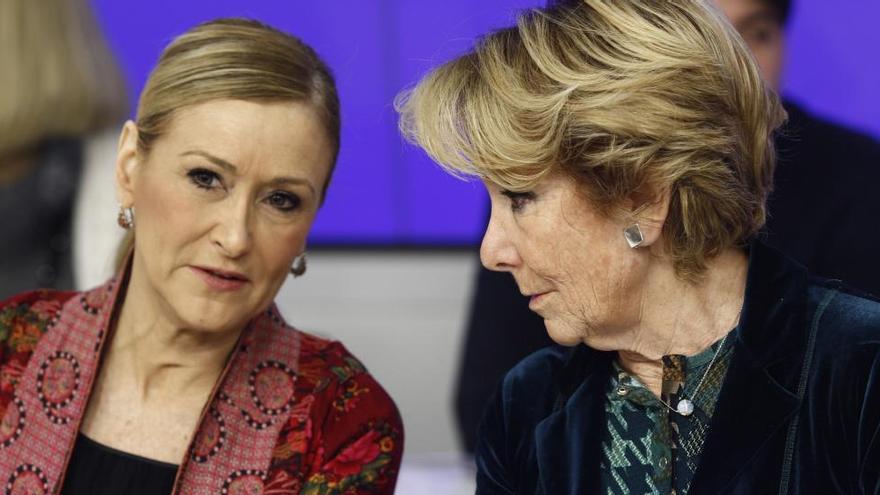 Imputen Aguirre en el cas Púnica per idear el finançament il·legal del PP de Madrid
