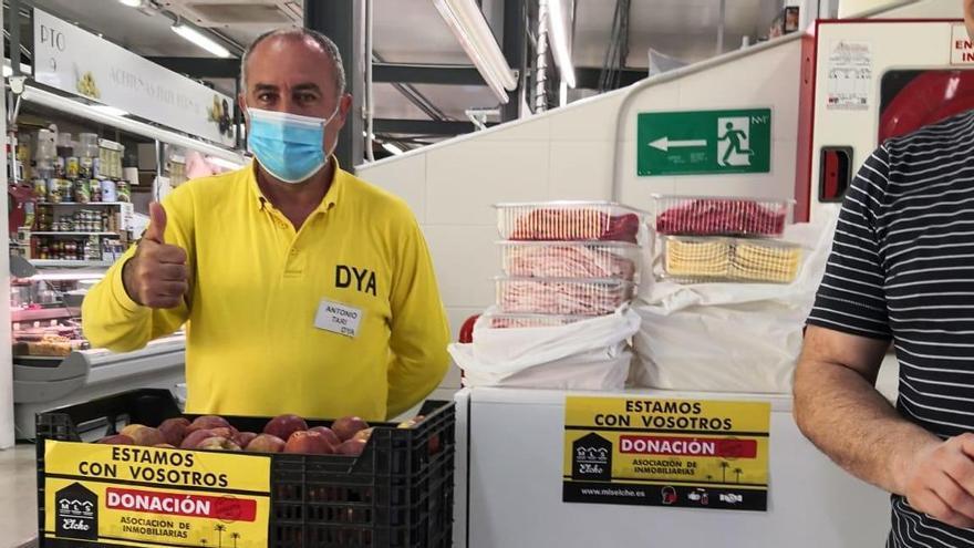 Elche: recogidos 14 toneladas de comida para 60 familias necesitadas