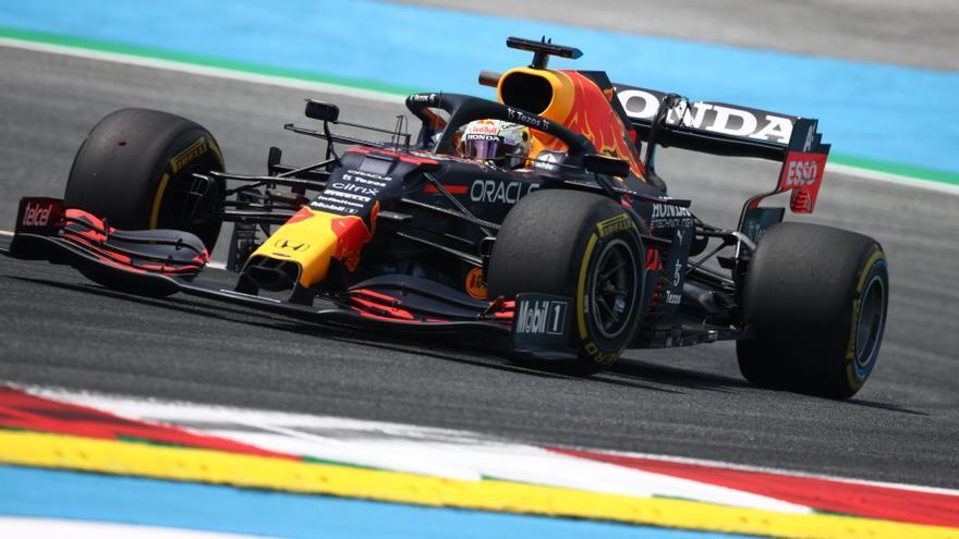 Verstappen, el más rápido en los primeros libres de Estiria, con Alonso sexto