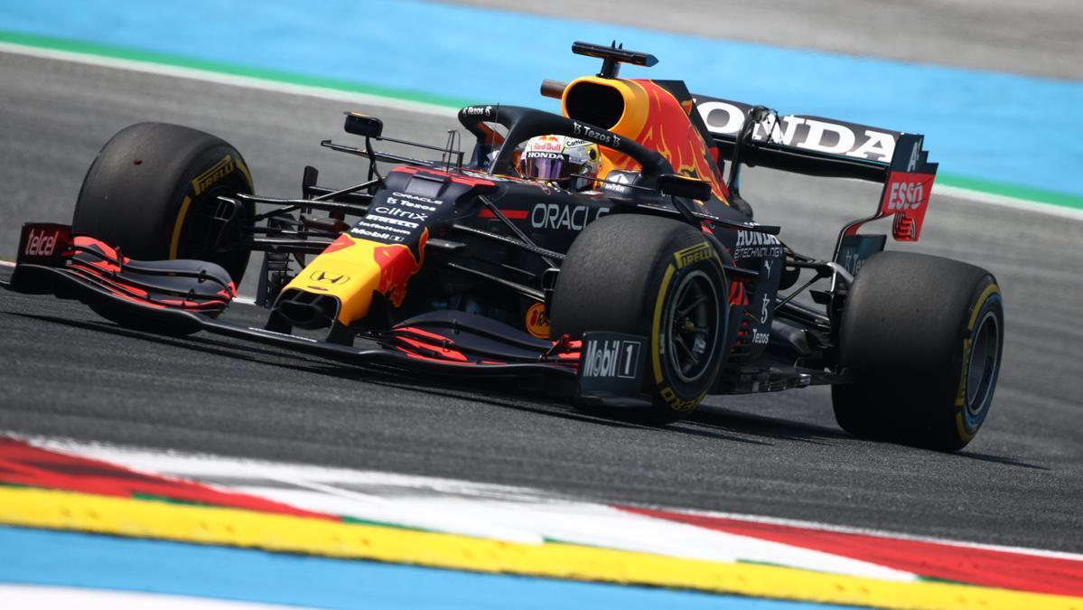 Max Verstappen, en el circuito Red Bull Ring.