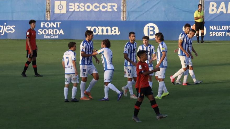 Lekic da el triunfo al Atlético Baleares ante el Mallorca B