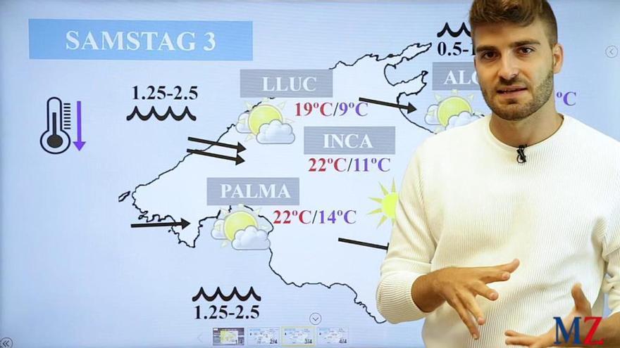 Mallorca-Wetter am Wochenende: Der Oktober startet stürmisch